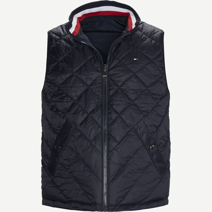 Reversible Vest - Veste - Regular - Blå