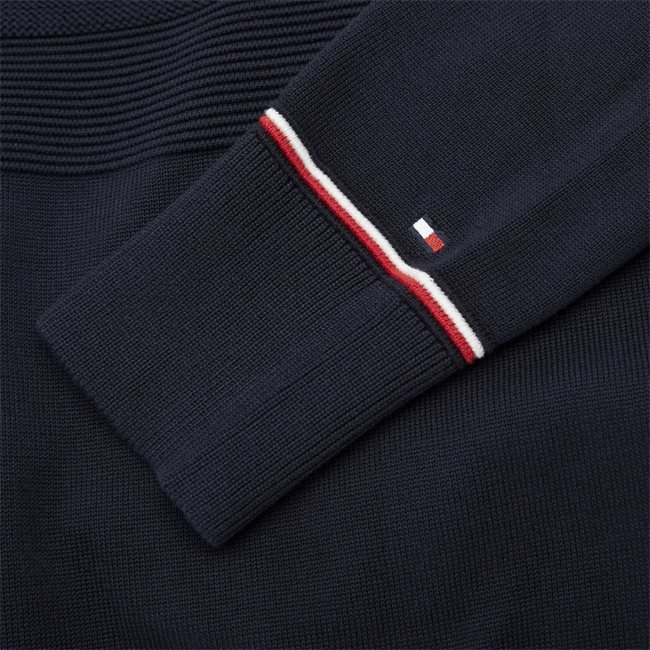 Structured Flag Sweater
