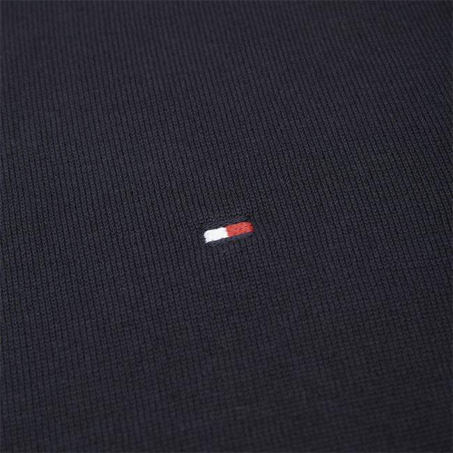 Core Cotton-Silk Cneck Knit