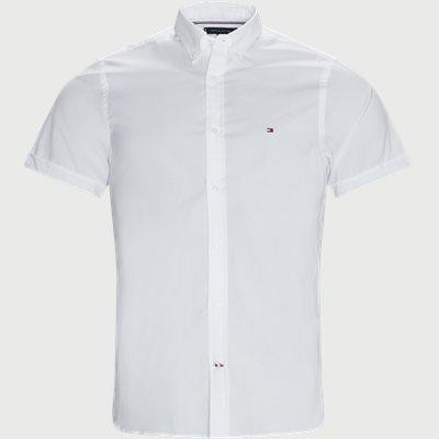 Soft Poplin Kortærmet Skjorte Slim | Soft Poplin Kortærmet Skjorte | Hvid