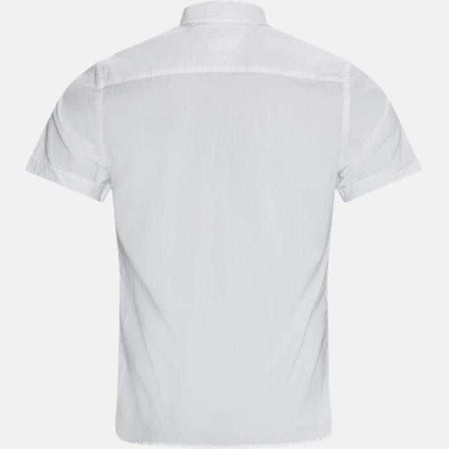 Soft Poplin Kortærmet Skjorte