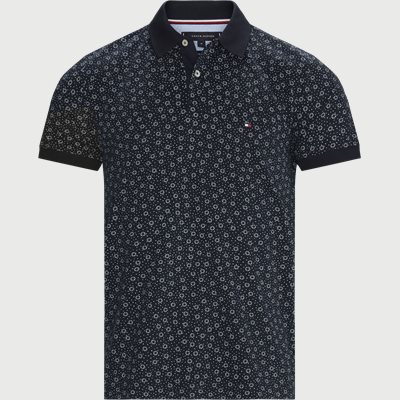 Buoy Print Regular Polo T-shirt Regular | Buoy Print Regular Polo T-shirt | Blå
