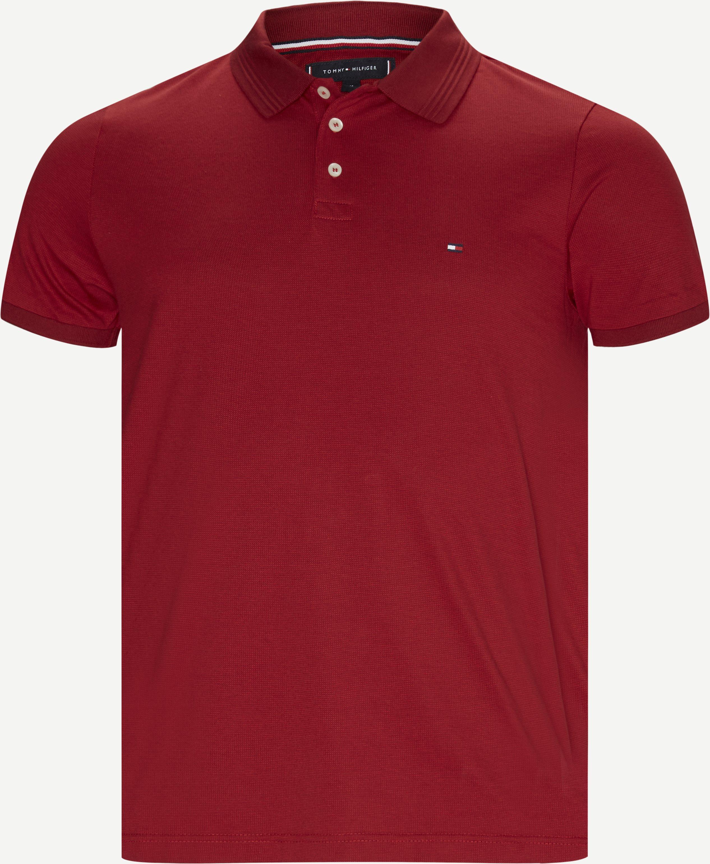 Flex Sophisticated Slim Polo - T-shirts - Slim fit - Rød