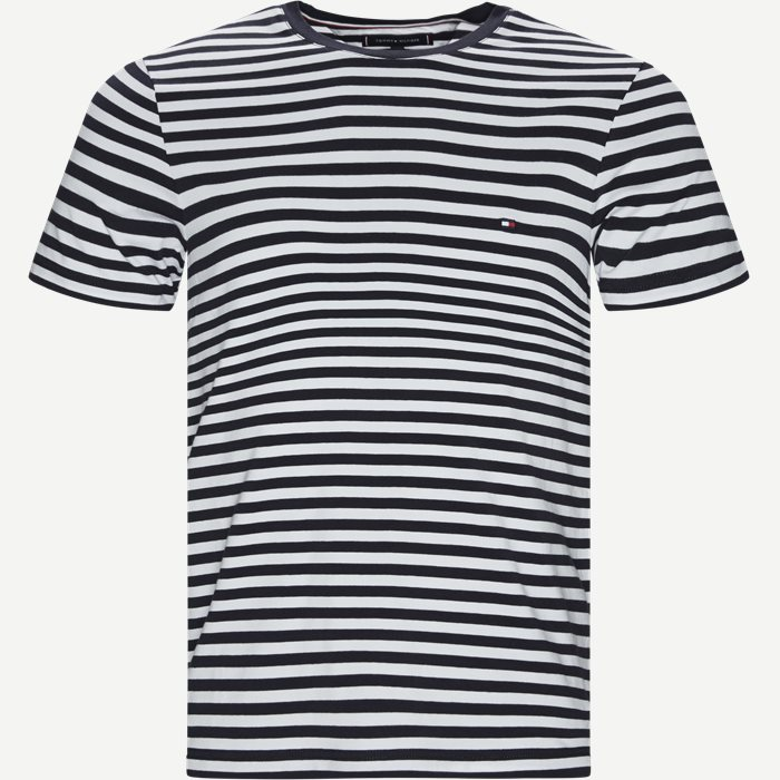 Stretch Slim Fit T-shirt - T-shirts - Slim - Blå