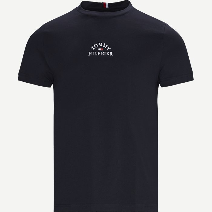 Arch Tee - T-shirts - Regular - Blå