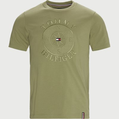 Circular Compass Relaxed Fit T-shirt Relaxed fit | Circular Compass Relaxed Fit T-shirt | Grøn