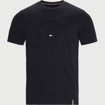 Circular Compass Relaxed Fit T-shirt Relaxed fit | Circular Compass Relaxed Fit T-shirt | Blå