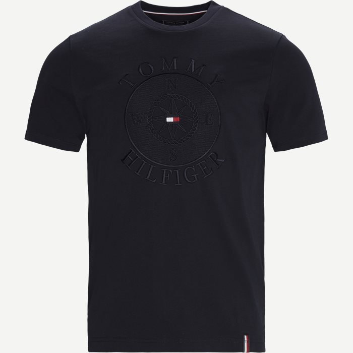 Circular Compass Relaxed Fit T-shirt - T-shirts - Relaxed fit - Blå
