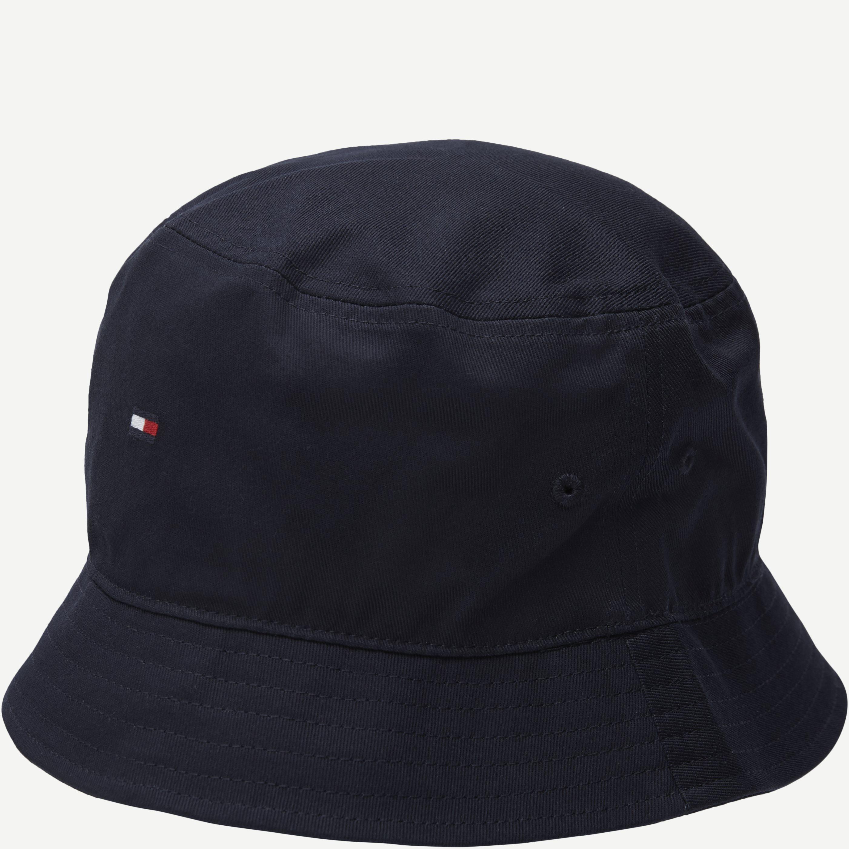 Flag Bucket Hat - Hatte - Blå