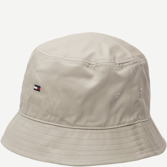 Flag Bucket Hat - Caps - Sand