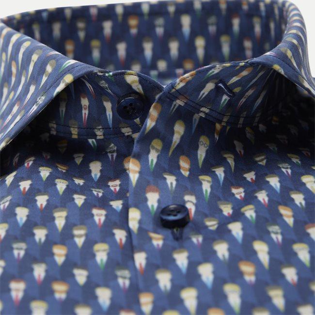 Cotton Twofold Stretch Shirt