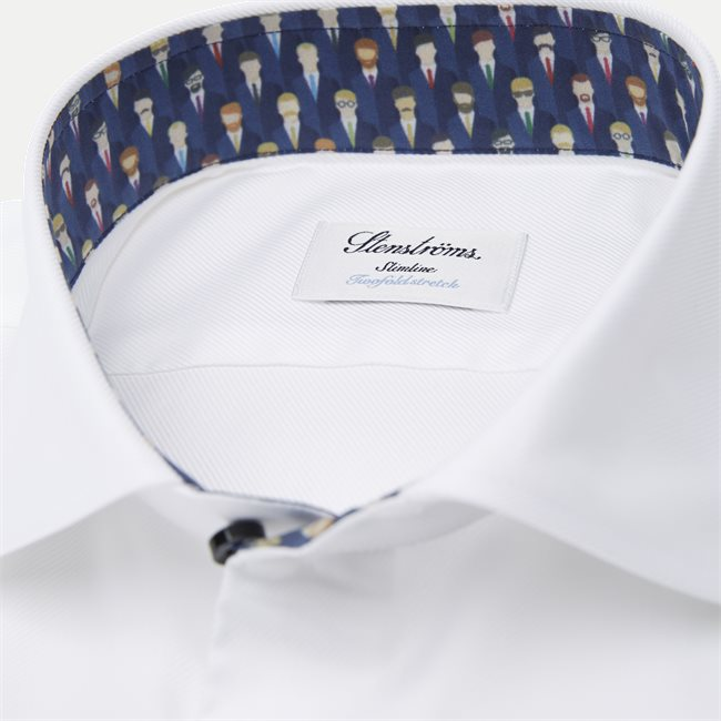 Twofold Stretch Cotton Shirt