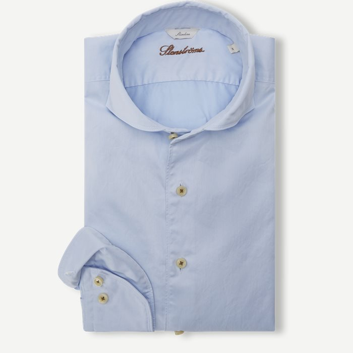 Light Blue Casual Shirt - Skjorter - Blå