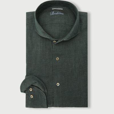 Linen Shirt Linen Shirt | Grøn
