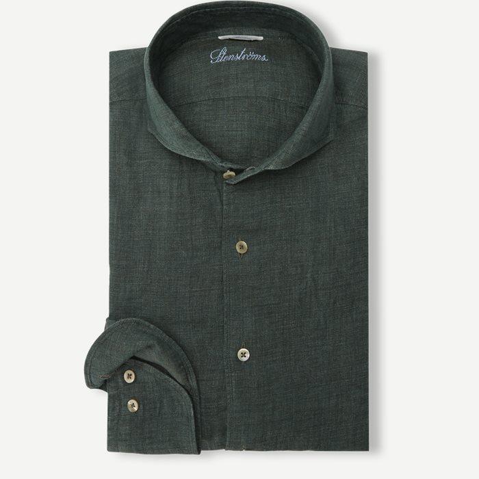 Linen Shirt - Skjorter - Grøn