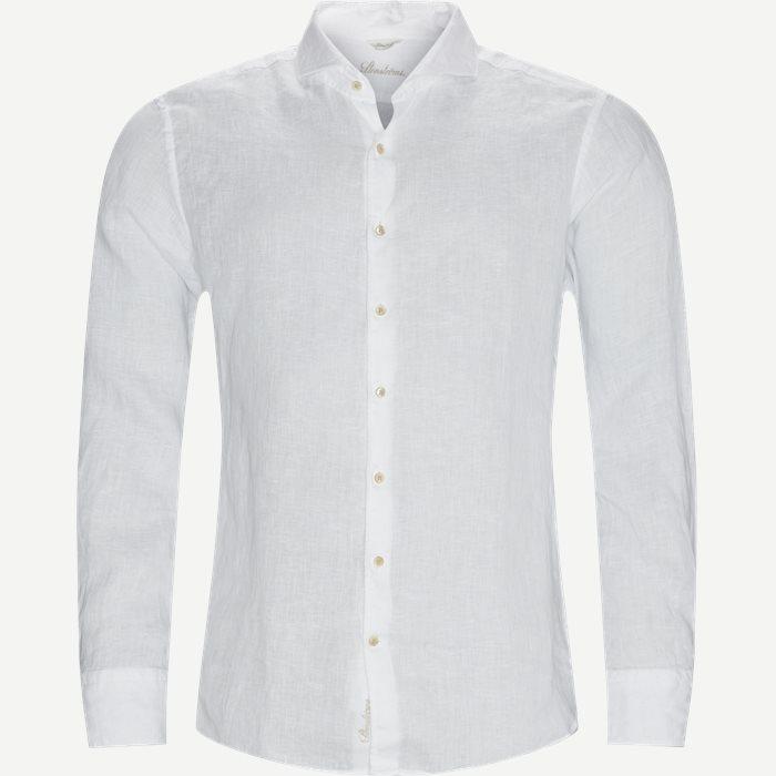 Linen Shirt - Skjorter - Hvid