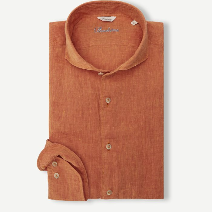 Linen Shirt - Skjorter - Orange