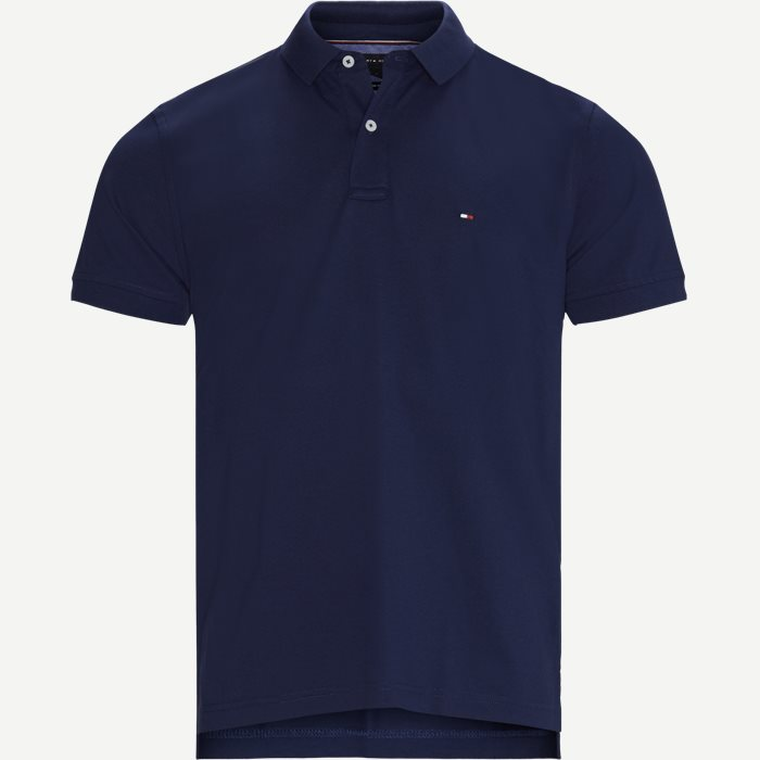 Tommy Regular Polo T-shirt - T-shirts - Regular - Blå