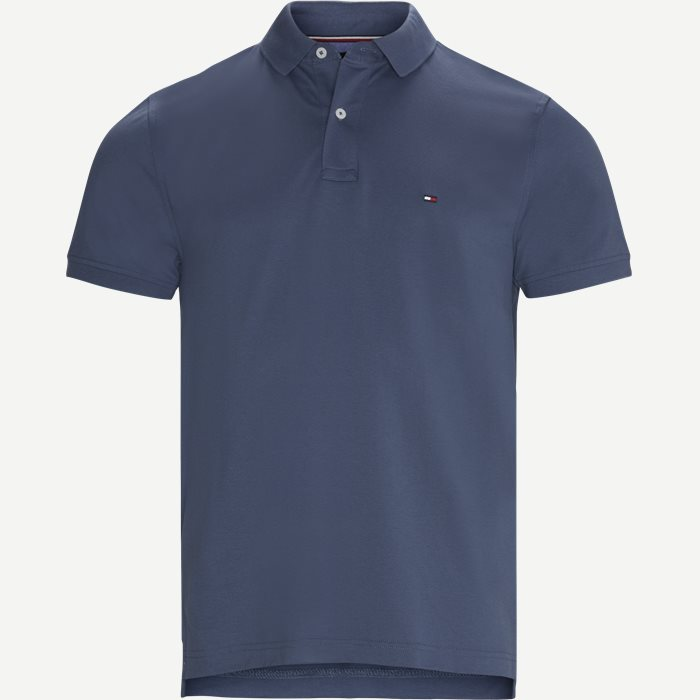 Tommy Regular Polo T-shirt - T-shirts - Regular - Denim