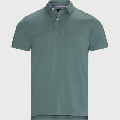 Tommy Regular Polo T-shirt Regular | Tommy Regular Polo T-shirt | Grøn