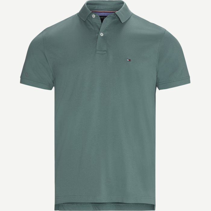 Tommy Regular Polo T-shirt - T-shirts - Regular - Grøn