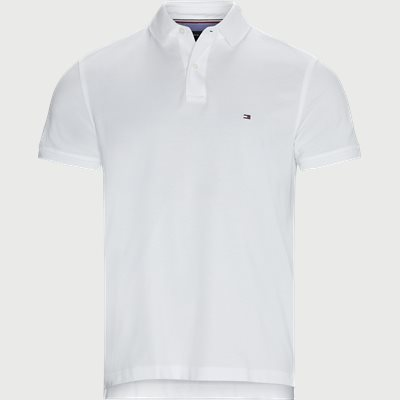 Tommy Regular Polo T-shirt Regular | Tommy Regular Polo T-shirt | Hvid