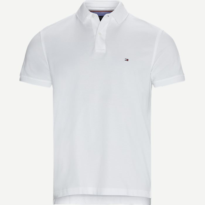 Tommy Regular Polo T-shirt - T-shirts - Regular - Hvid