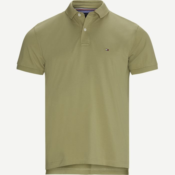 Tommy Regular Polo T-shirt - T-shirts - Regular - Army