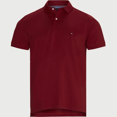 Tommy Regular Polo T-shirt Regular | Tommy Regular Polo T-shirt | Rød