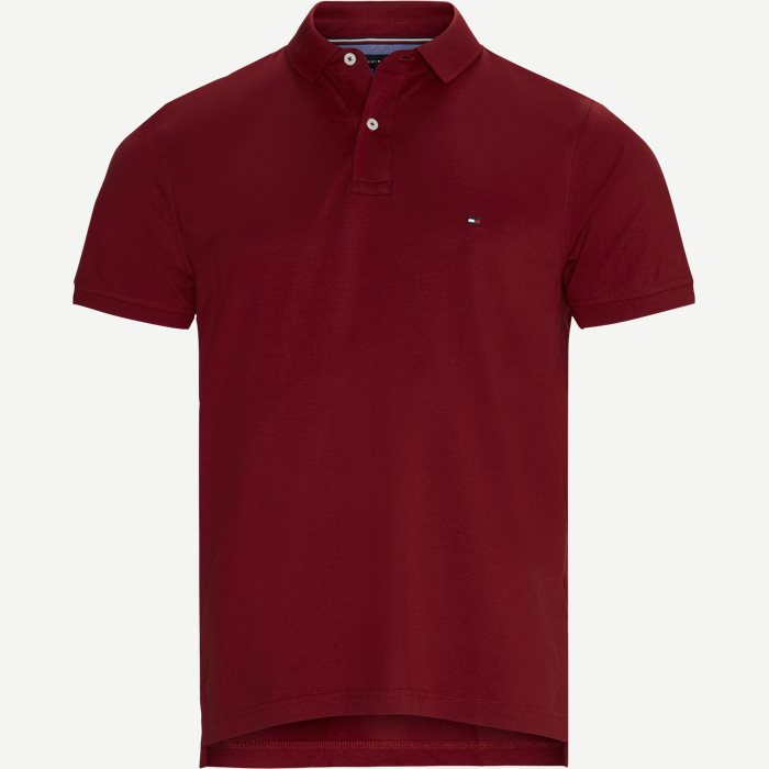 Tommy Regular Polo T-shirt - T-shirts - Regular - Rød