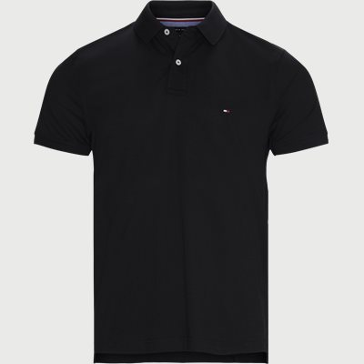 Tommy Regular Polo T-shirt Regular | Tommy Regular Polo T-shirt | Sort