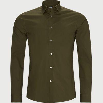 Farrell Skjorte Slim | Farrell Skjorte | Grøn
