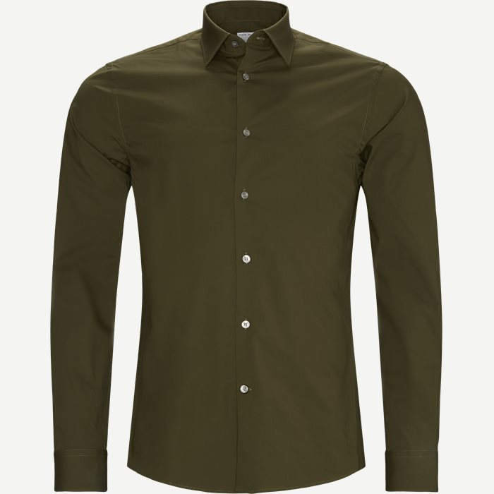 Shirts - Slim - Green
