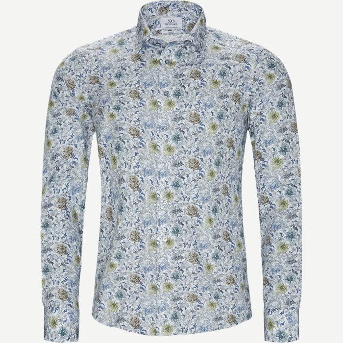 8597 Jake SC/Gordon SC Skjorte - Skjorter - Blå