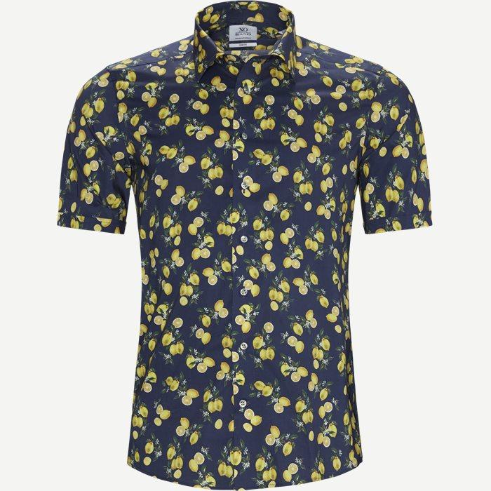 8604 Jake SC ST/Gordon SC ST Skjorte - Kortærmede skjorter - Blå