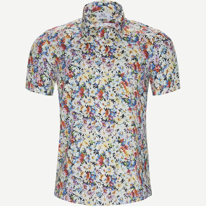 Kurzärmlige Hemden - Bunt