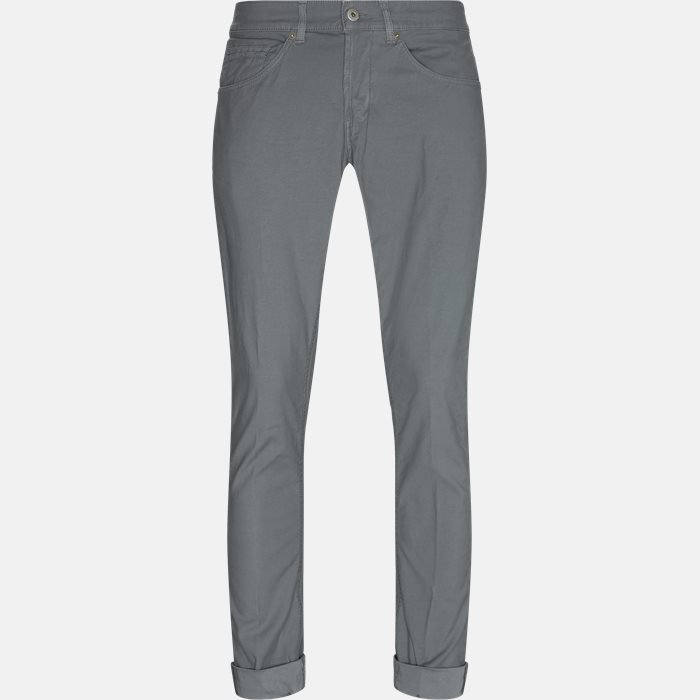 Chinos - Regular fit - Grå
