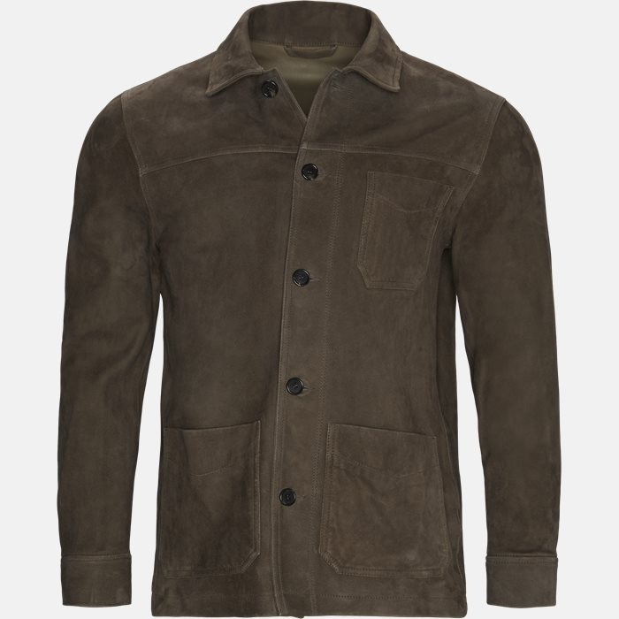 Jackets - Regular fit - Brown