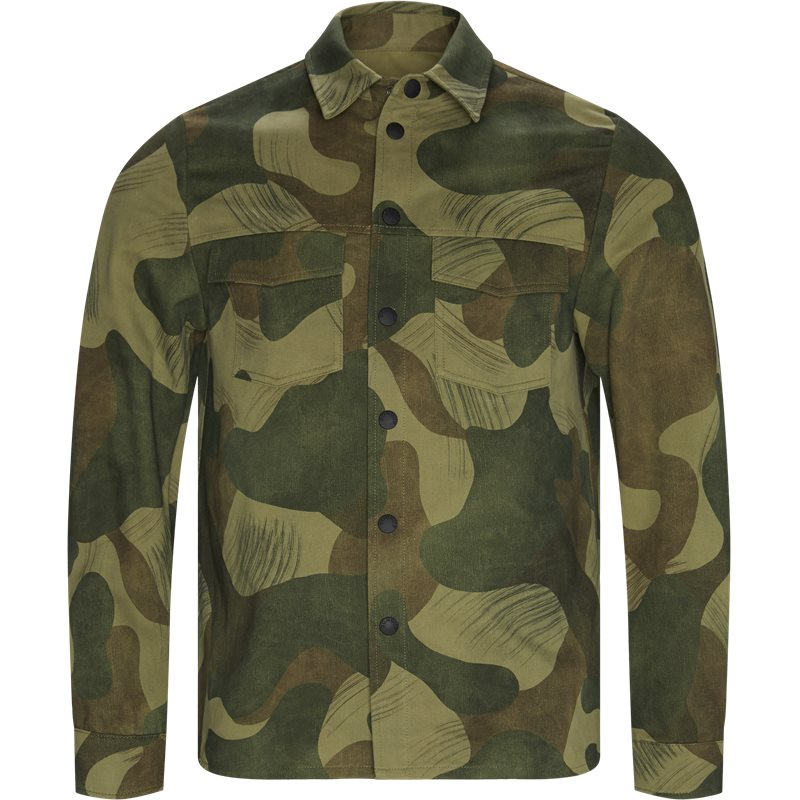 Image of Dondup Regular fit UJ698 PX0080 UNI Jakker Camo