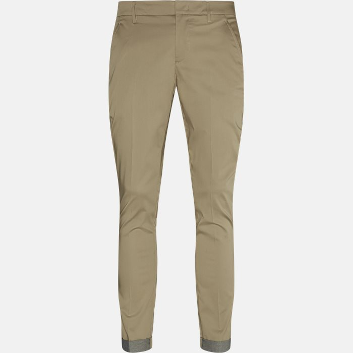 Trousers - Slim - Brown