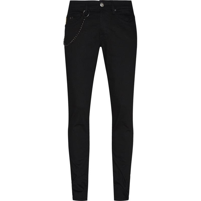 Image of   SARTORIA TRAMAROSSA Slim D411 1980 20 Jeans Sort