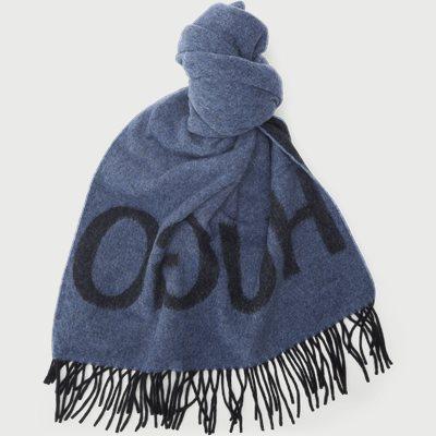 Unisex-Z Wool Scarf Unisex-Z Wool Scarf | Blå