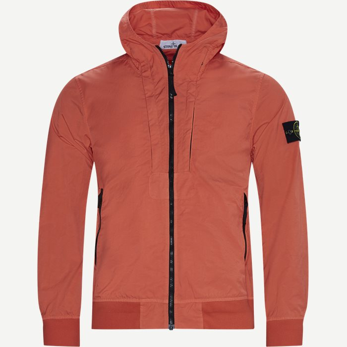 Tightly Woven Nylon Twill-TC Jacket - Jakker - Regular - Orange