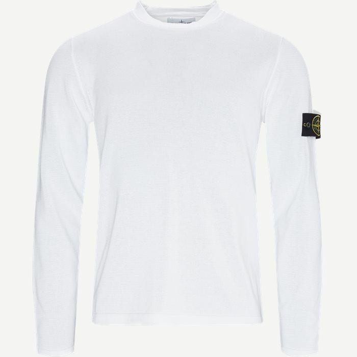 Logo Knitted Sweater - Strik - Regular - Hvid