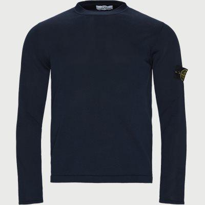 Logo Knitted Sweater Regular | Logo Knitted Sweater | Blå