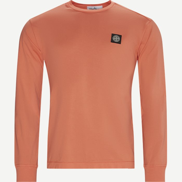Long Sleeved LogoT-shirt - T-shirts - Regular - Orange