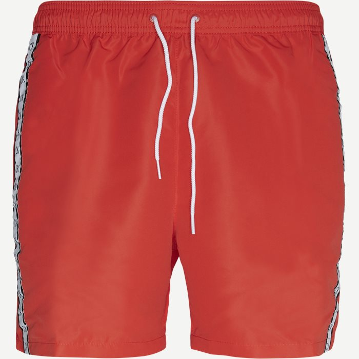 Drawstring Swim Shorts - Shorts - Regular - Rød
