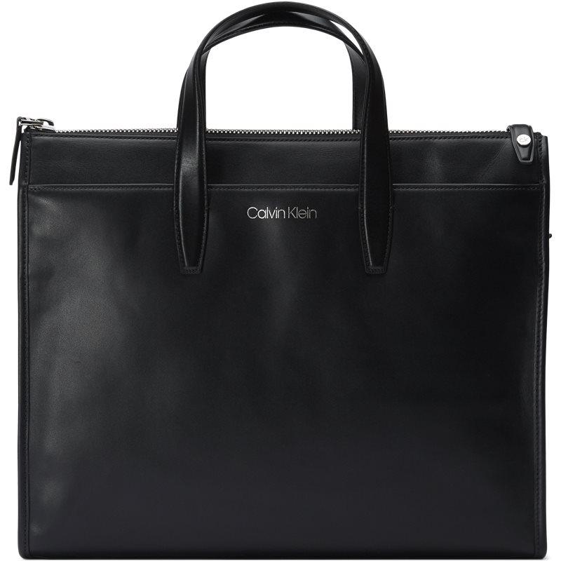Calvin klein - panache laptop bag fra calvin klein på kaufmann.dk