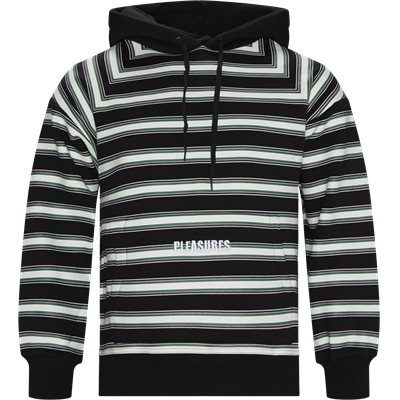 Lost Striped Hoodie Regular | Lost Striped Hoodie | Sort