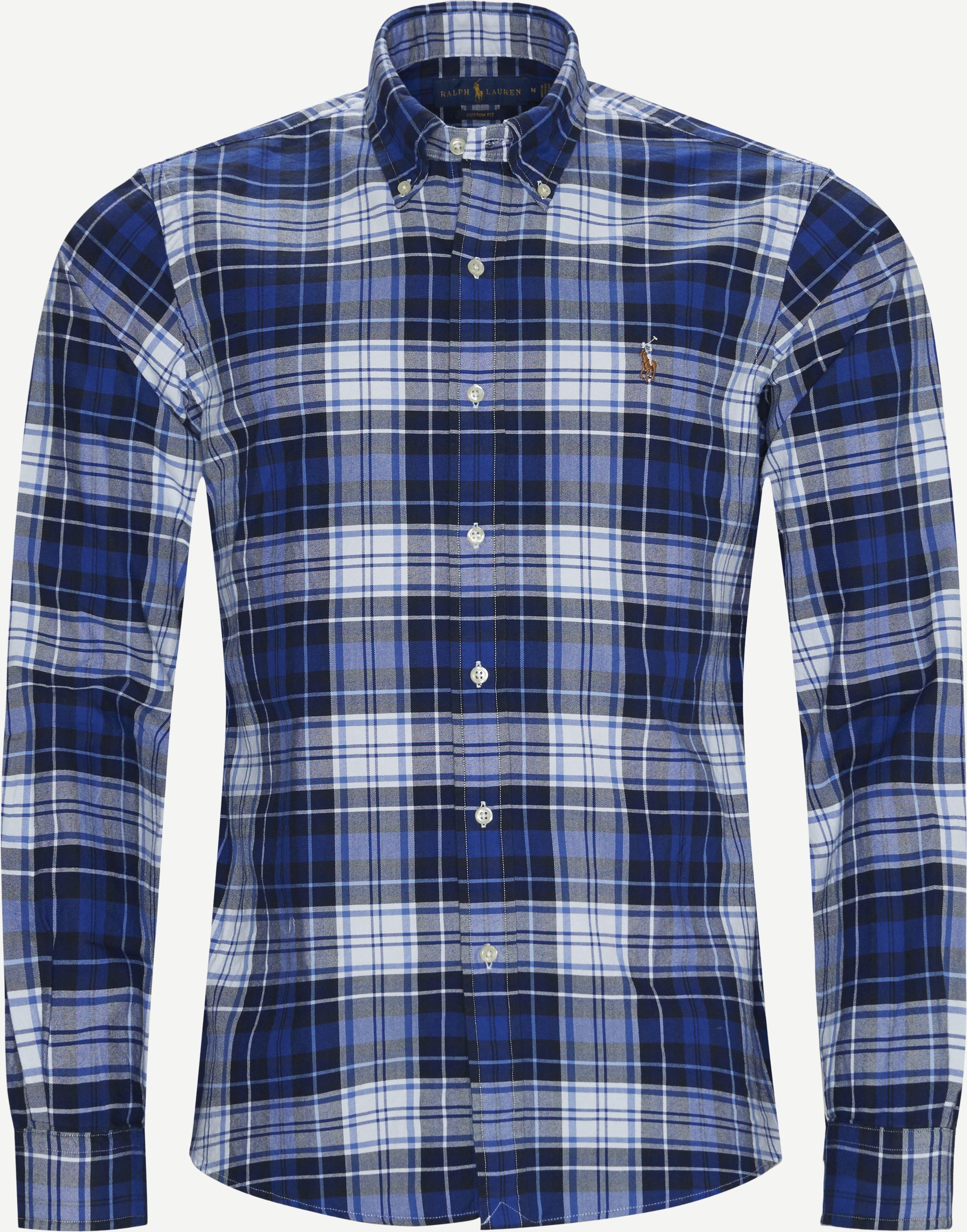 Skjortor - Custom fit - Blå